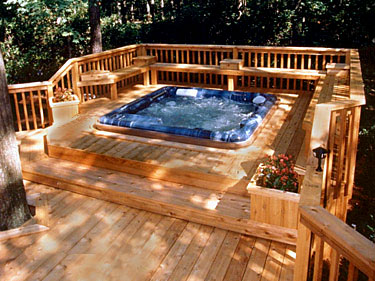 New England Spas Sunrooms Gallery Image Upper Deck